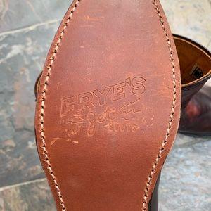 Frye Shoes - Frye Jet Roper Boots | Plum Brush-Off, Size 9.5